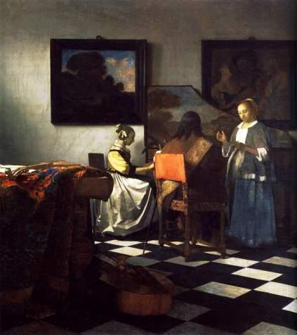 Vermeer van Delft: Koncert