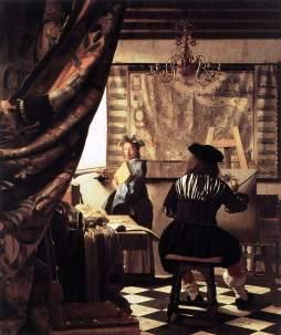 Vermeer van Delft: Alegoria malarstwa