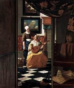Vermeer van Delft: List miłosny