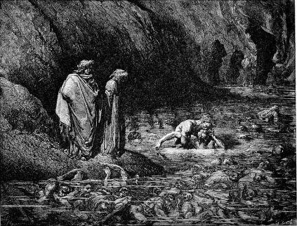 Gustave Doré: Piekło (Ugolino)