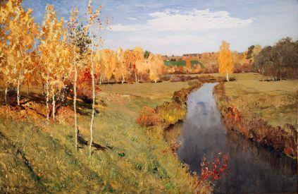 Izaak Lewitan: Złota jesień
