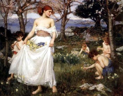 John William Waterhouse: Pieśń wiosenna