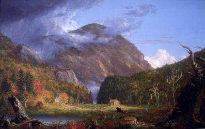 Thomas Cole: Widok na szczyt