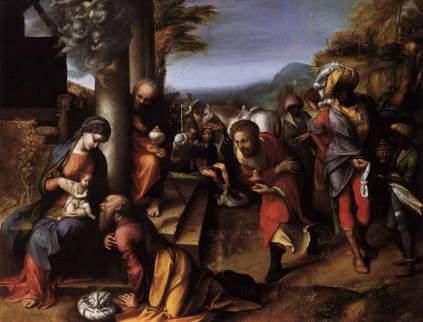Correggio: Adoracja Magów