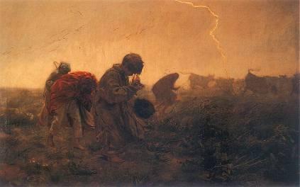Józef Chełmoński: Burza