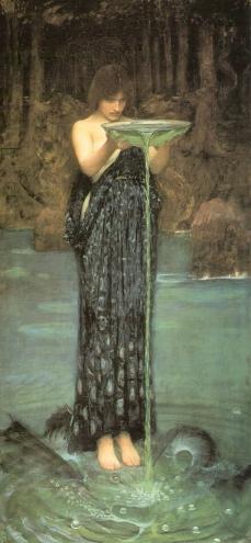 John William Waterhouse: Circe Invidiosa