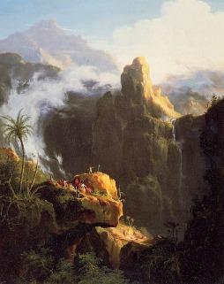 Thomas Cole: Święty Jan na puszczy