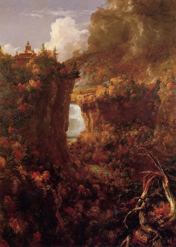 Thomas Cole: Portage Falls on the Genesee