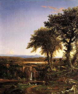 Thomas Cole: Summer Twilight