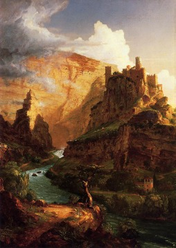 Thomas Cole: Valley of the Vaucluse