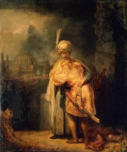 Rembrandt: Dawid i Jonatan