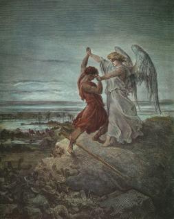 Gustave Doré: Walka z aniołem