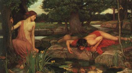 John William Waterhouse: Narcyz i Echo