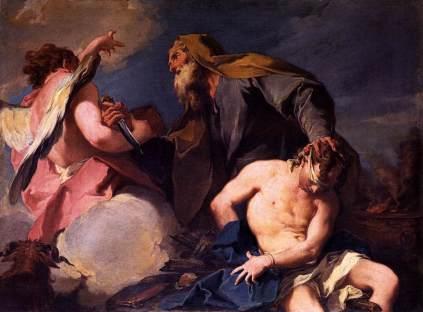 Giovanni Battista Pittoni: Ofiara Izaaka