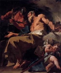 Giovanni Battista Pittoni: Męczeństwo św. Tomasza