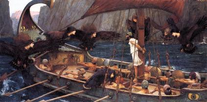 John William Waterhouse: Ulisses i syreny