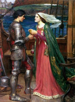 John William Waterhouse: Tristan i Izolda