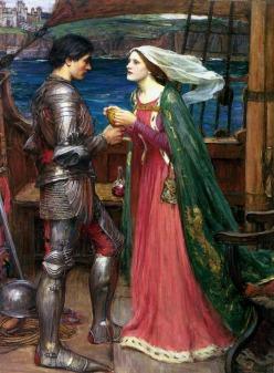John William Waterhouse: Tristan i Izolda