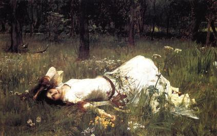 John William Waterhouse: Ofelia