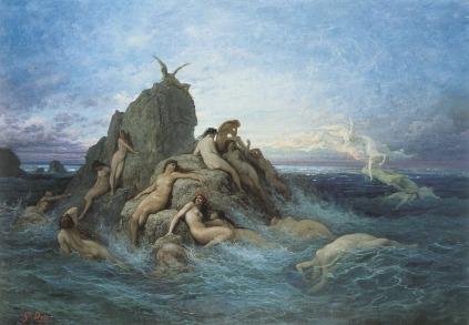 Gustave Doré: Les Naiades de la mer