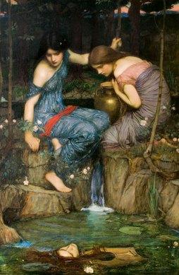 John William Waterhouse: Nimfy i głowa Orfeusza
