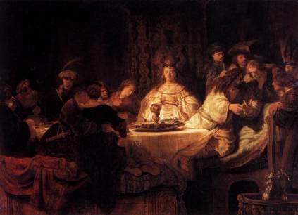 Rembrandt: Samson i Dalila