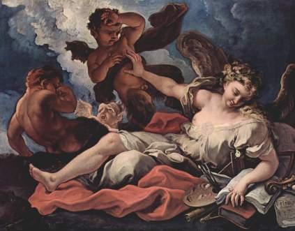 Sebastiano Ricci: Alegoria sztuk