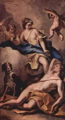 Sebastiano Ricci: Selene i Endymion