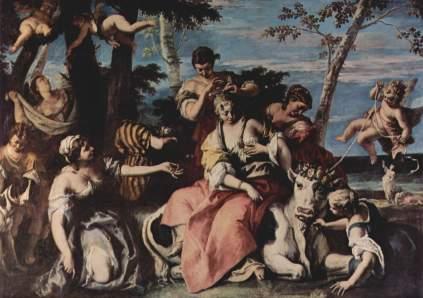 Sebastiano Ricci: Porwanie Europy