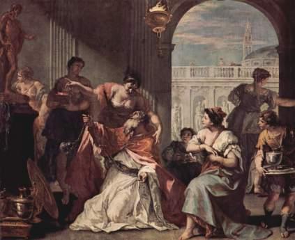 Sebastiano Ricci: Ofiara Salomona