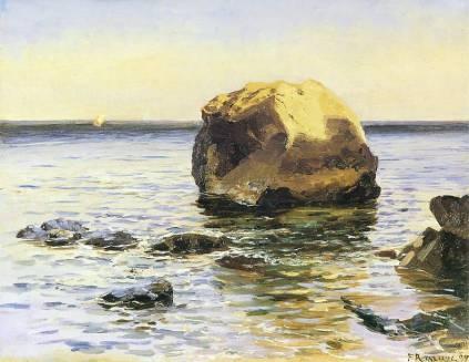 Ferdynand Ruszczyc: Skała w morzu