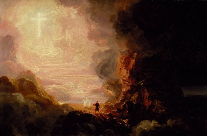 Thomas Cole: Pilgrim Cross End