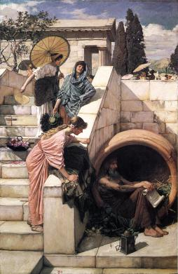 John William Waterhouse: Diogenes