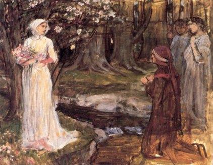 John William Waterhouse: Dante i Beatrycze