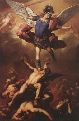 Luca Giordano: Upadek zbuntowanych aniołów