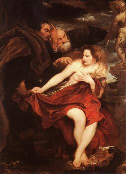 Anthony van Dyck: Zuzanna i starcy