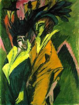 Ernst Ludwig Kirchner: Ulica berlińska