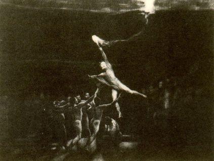 Max Klinger,Prometeusz niosący ogień