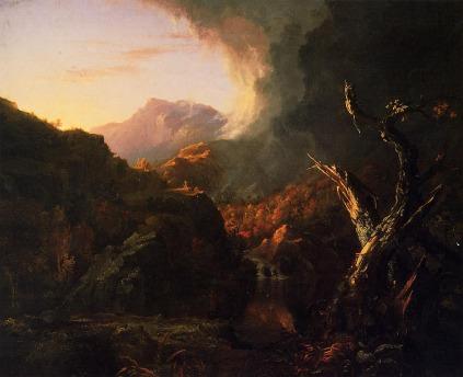 Thomas Cole: Krajobraz z umarłym drzewem