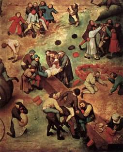Pieter Brueghel Starszy: Zabawy chłopskie (fr.)