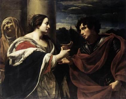 Simon Vouet: Sofonisba przyjmująca truciznę