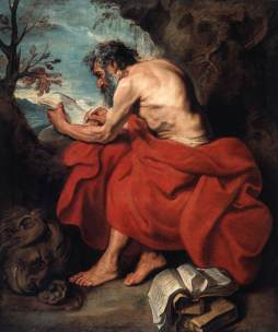Anthony van Dyck: Św. Hieronim