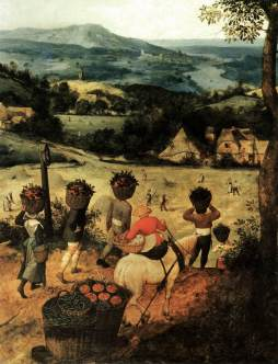 Pieter Brueghel Starszy: Lipiec