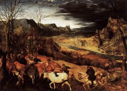 Pieter Brueghel Starszy: Listopad