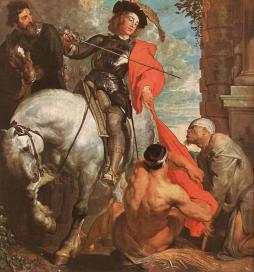 Anthony van Dyck: Marcin i żebrak