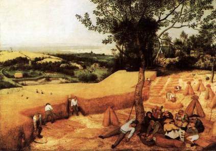 Pieter Brueghel Starszy: Sierpień