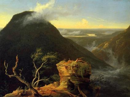 Thomas Cole: Poranek nad rzeką Hudson
