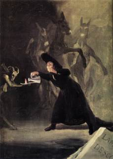 Francisco Goya: Mężczyzna zahipnotyzowany