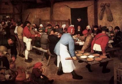 Pieter Brueghel Starszy: Wesele chłopskie