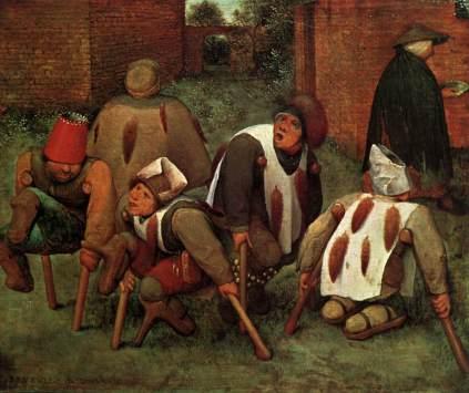Pieter Brueghel Starszy: Kaleki